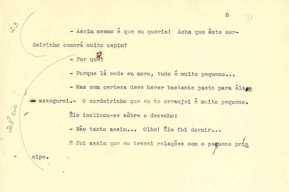 Pequeno Príncipe - Tradução Mário Quintana
