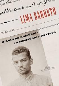 Capa do livro 'Diário do Hospício e O Cemitério dos Vivos', de Lima Barreto