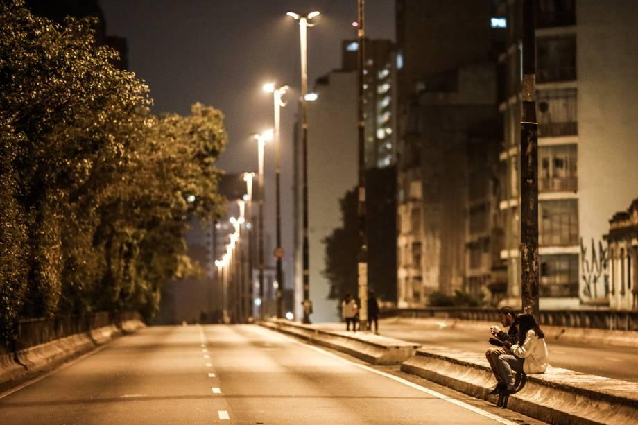 Termômetros chegaram a marcar 7,9ºC em São Paulo, sensação térmica atingiu 4ºC