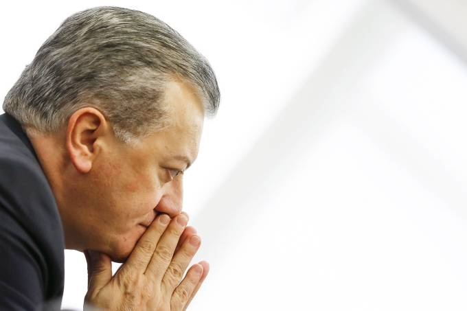 Ex-presidente da Petrobras Aldemir Bendine – 13/02/2014
