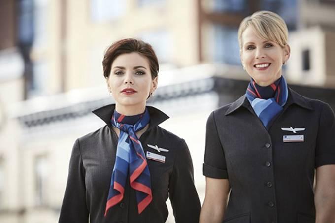 Novo uniforme da American Airlines