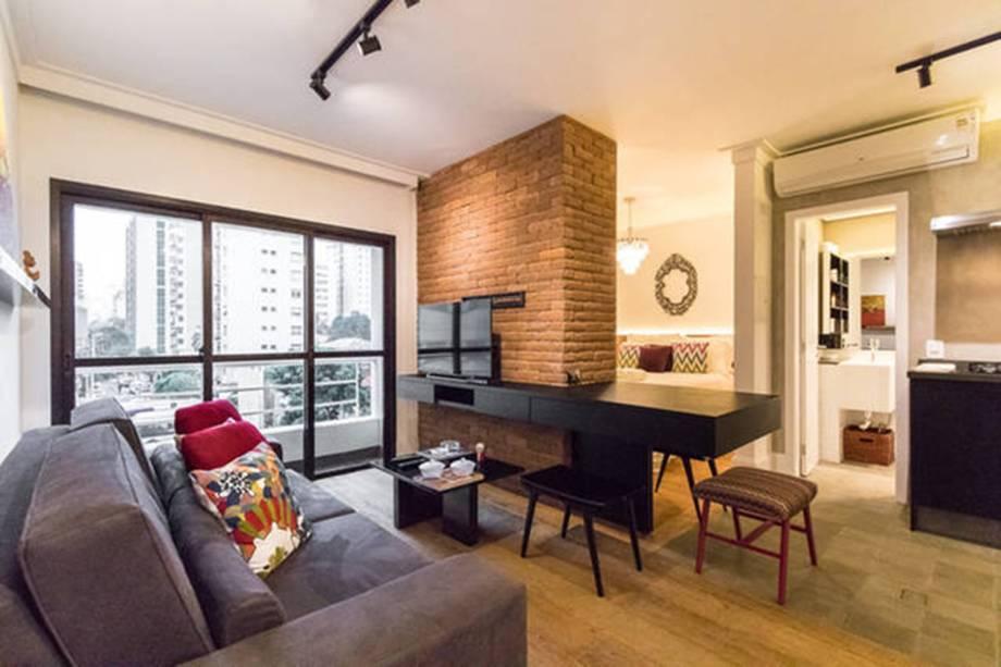 Apartamento administrado pela B.Homy