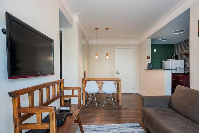 Apartamento de Erika Glorigiano, administrado pela B.Homy