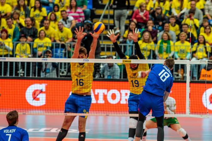 Liga Mundial de Vôlei 2017: Brasil x Rússia