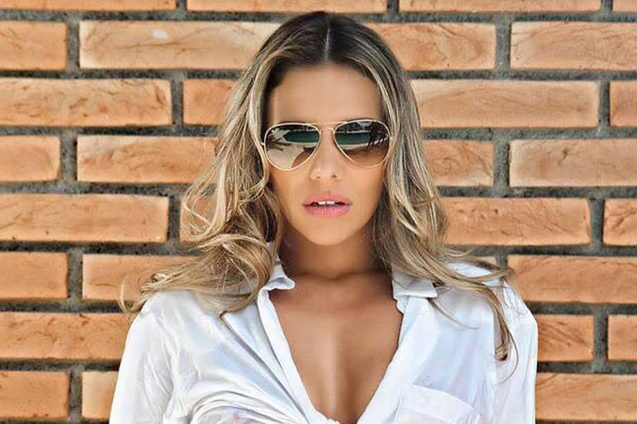 A jornalista Luana de Almeida Domingos, conhecida como Luana Don, que trabalhou na Rede TV!