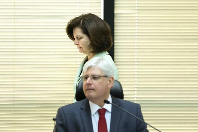 Rodrigo Janot e Raquel Dodge