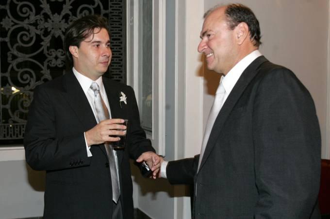 Cesar Maia e Rodrigo Maia