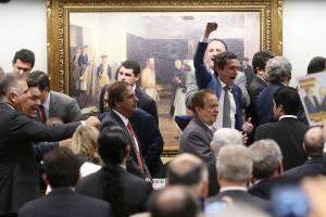 Votação da denúncia contra Temer na CCJ da Câmara dos Deputados - 13/07/2017