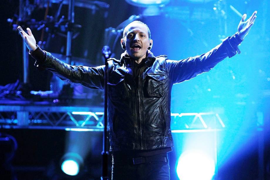 Chester Bennington, vocalista da banda de rock Linkin Park