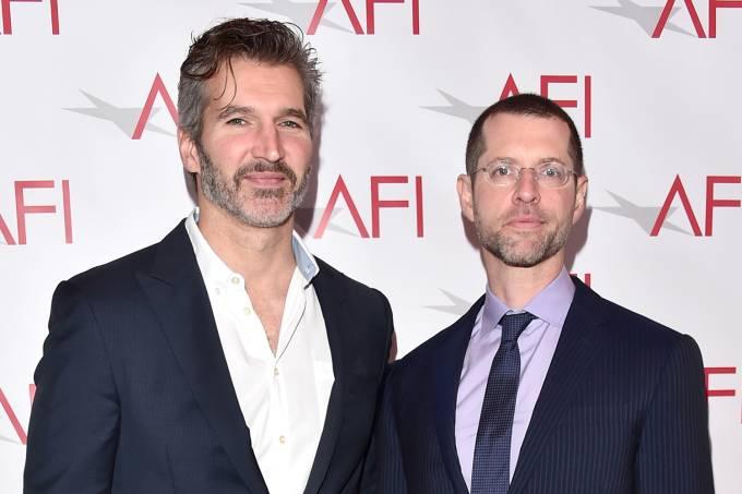 Os criadores da série 'Game of Thrones', David Benioff e D. B. Weiss