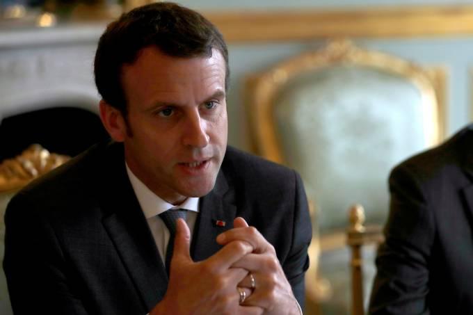 Presidente da França Emmanuel Macron