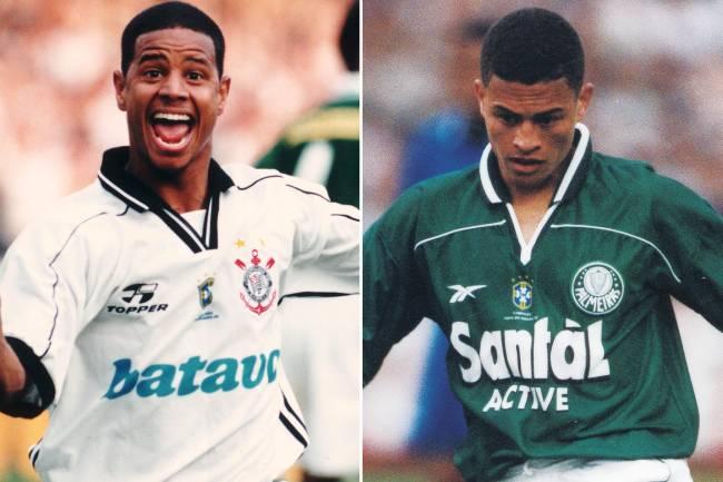Marcelinho Carioca e Alex