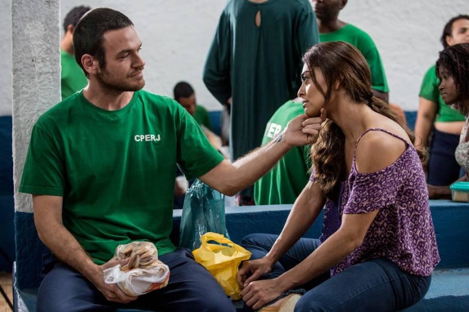 Rubinho (Emilio Dantas) e Bibi (Juliana Paes) em 'A Força do Querer'