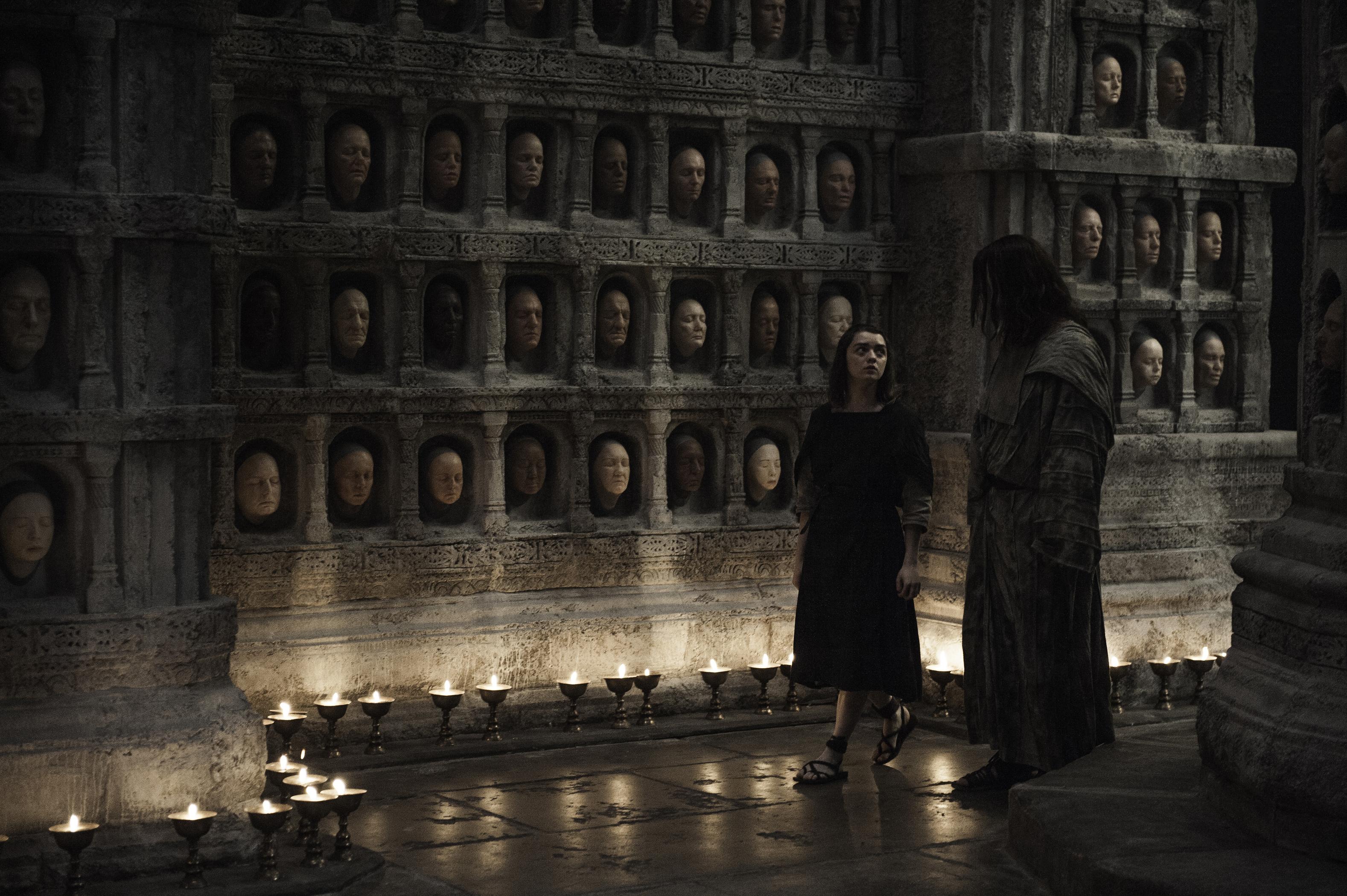 O templo do Deus de Muitas Faces em 'Game of Thrones'