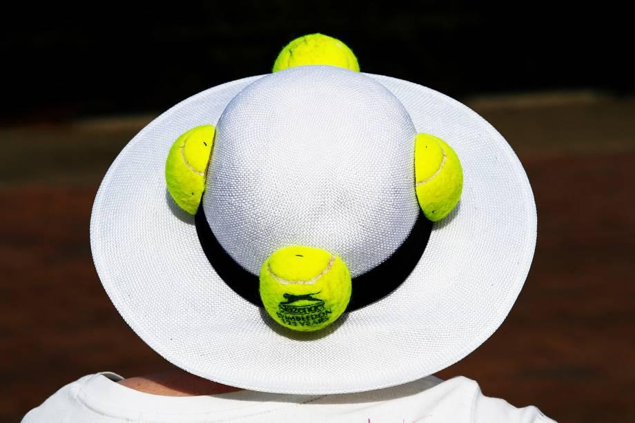 Público acompanha o 131ª edição do Torneio de Wimbledon, em Londres - 04/07/2017