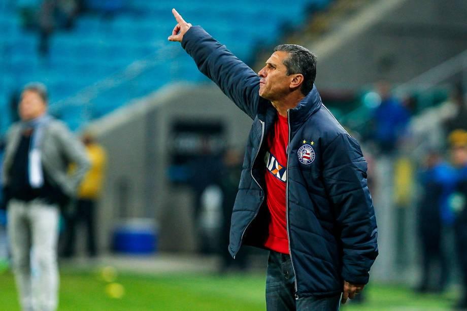 Jorginho como técnico do Bahia
