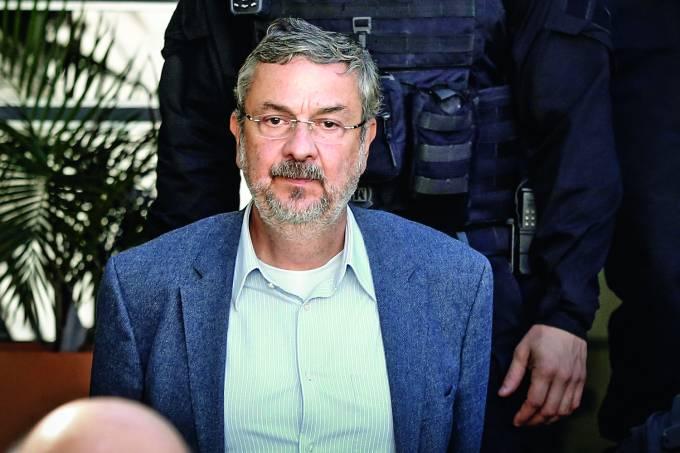 Ex-ministro Antonio Palocci em Curitiba (PR)