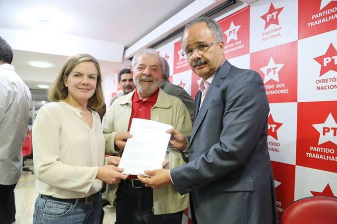 Gleise Hoffman, Lula e Vicente Cândido