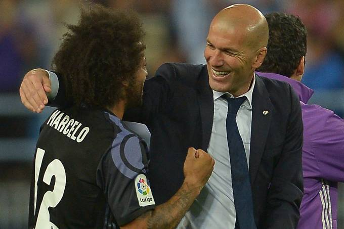Marcelo e Zidane