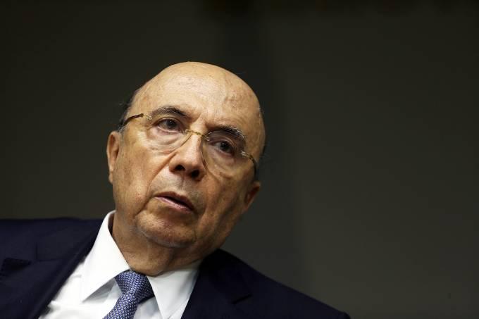 O ministro da Fazenda, Henrique Meirelles  Brasilia