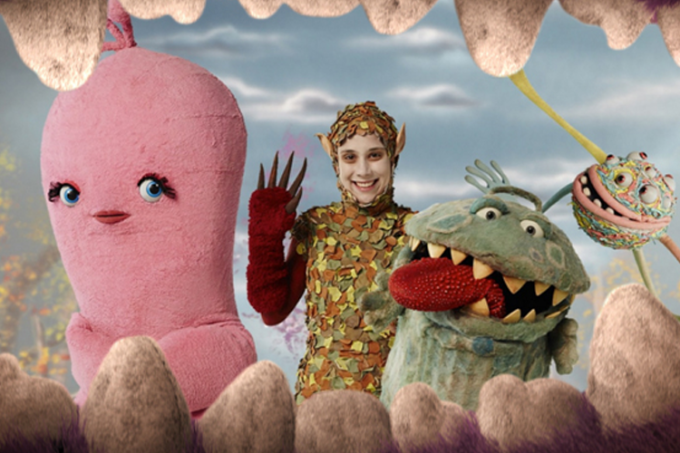 Personagens da série infantil da TV Cultura 'Que Monstro te Mordeu?'