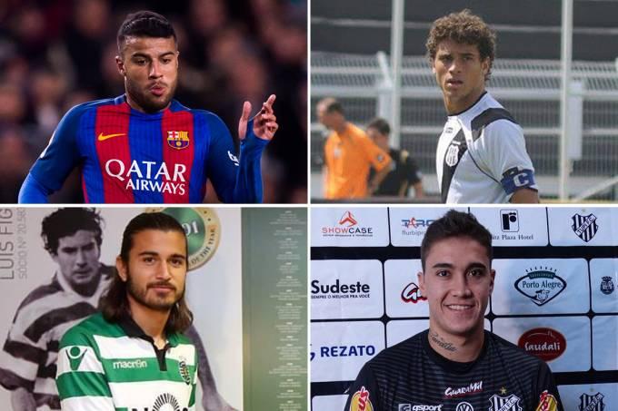 Rafinha Alcántara, Romarinho, Matheus e Ronaldo