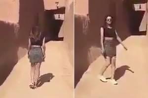Jovem é presa na Arábia Saudita por usar minissaia