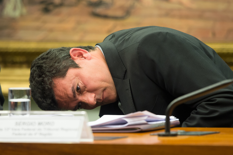 O juiz federal Sergio Moro - 30/03/2017
