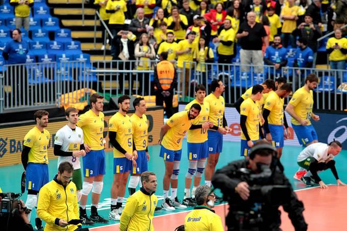 Mundial de Vôlei – Brasil e Canadá