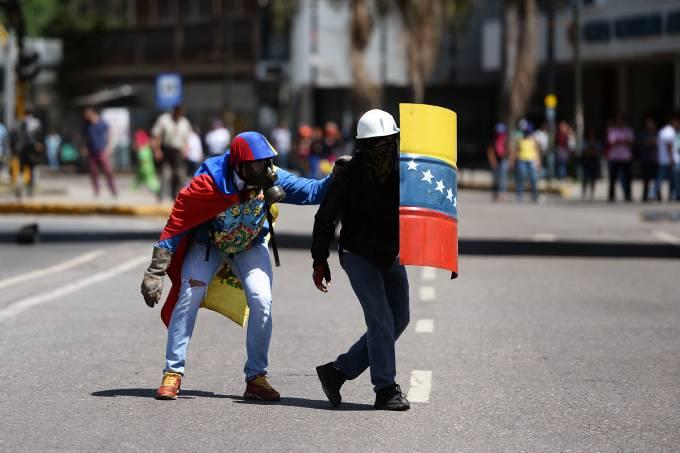 VENEZUELA-CRISIS-OPPOSITION-PROTEST