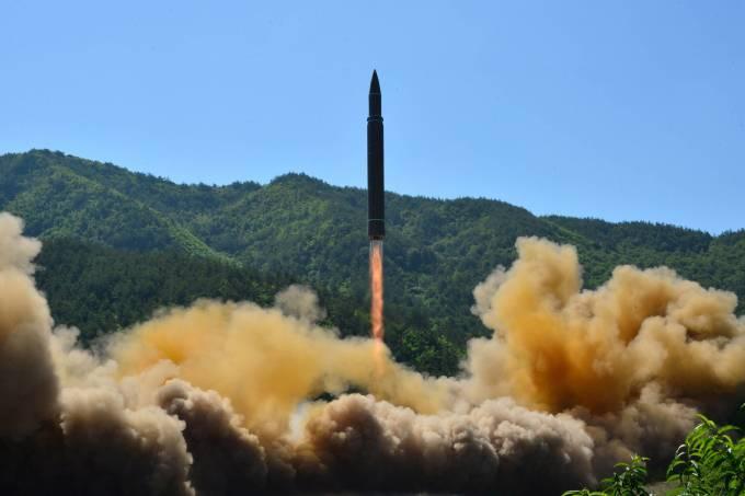 Míssil – Coreia do Norte – Japão