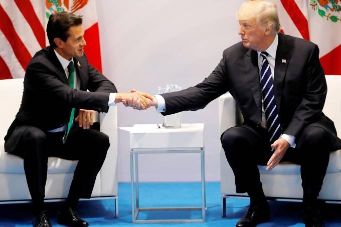 Enrique Peña Nieto e Donald Trump