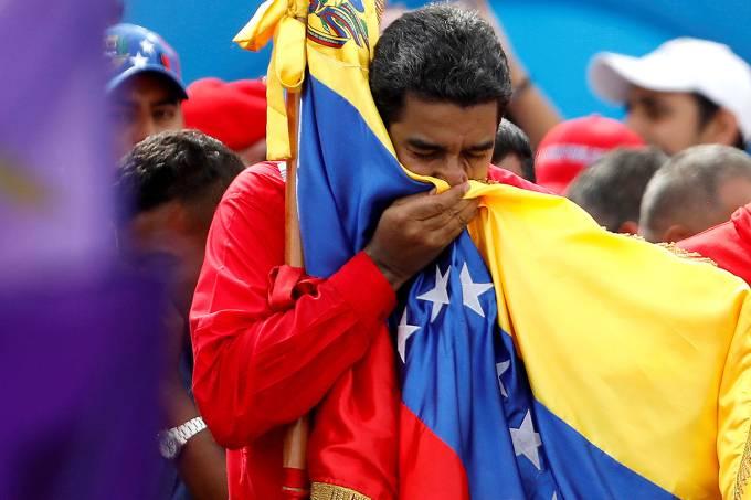 O presidente da Venezuela, Nicolás Maduro – 27/07/2017