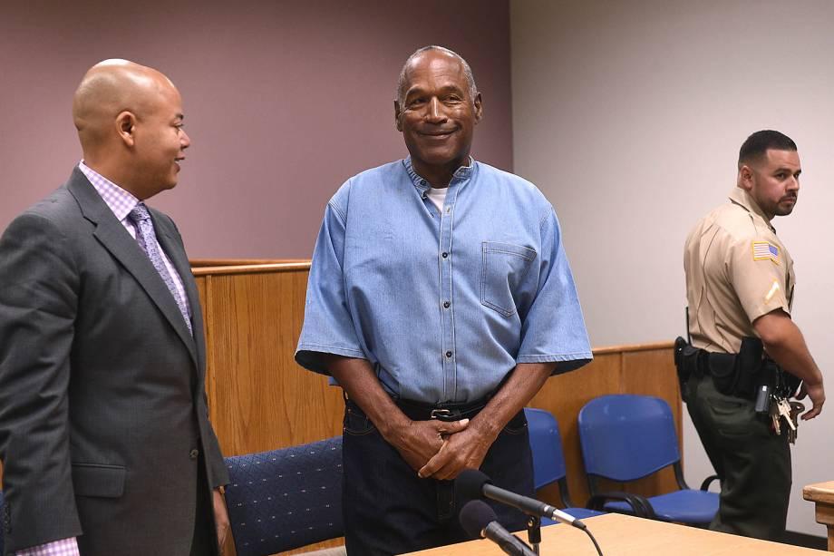 Um comitê de condicional de Nevada, nos Estados Unidos, se reuniu na manhã desta quinta-feira, 20, para considerar o pedido de liberdade de O.J. Simpson