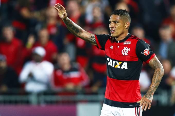 Paolo Guerrero do Flamengo