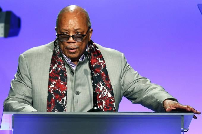 Quincy Jones, produtor do Michael Jackson