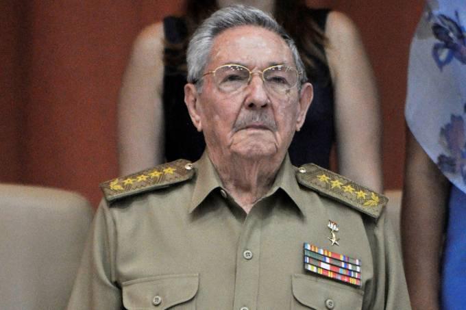 O presidente de Cuba, Raúl Castro, durante Assembleia Nacional, em Havana – 14/07/2017