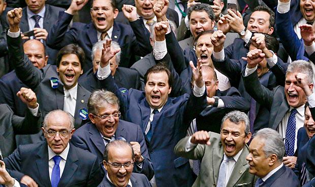 Rodrigo Maia eleito