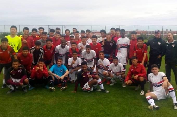 Equipe sub-19 do São Paulo