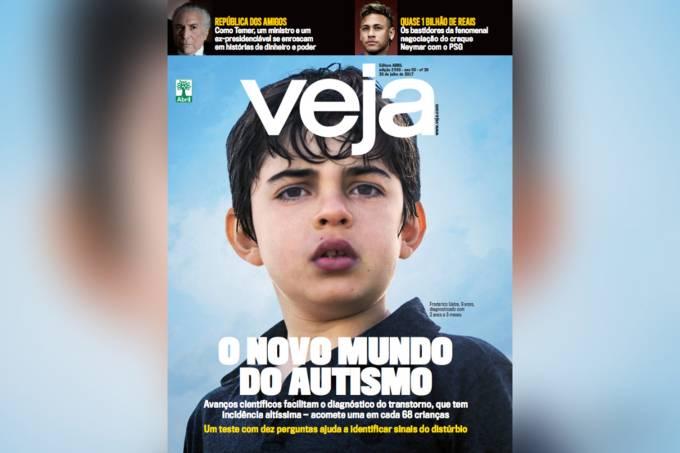 Capa da revista VEJA edição 2540
