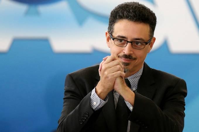 Ministro da cultura Sérgio Sá Leitão