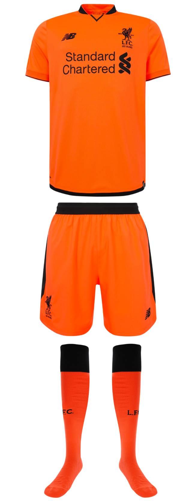 Novo uniforme Liverpool-2017-18