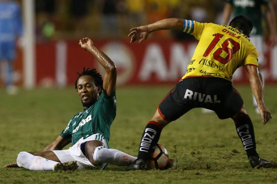 Zé Roberto defende o Palmeiras desde 2015 até os dias atuais