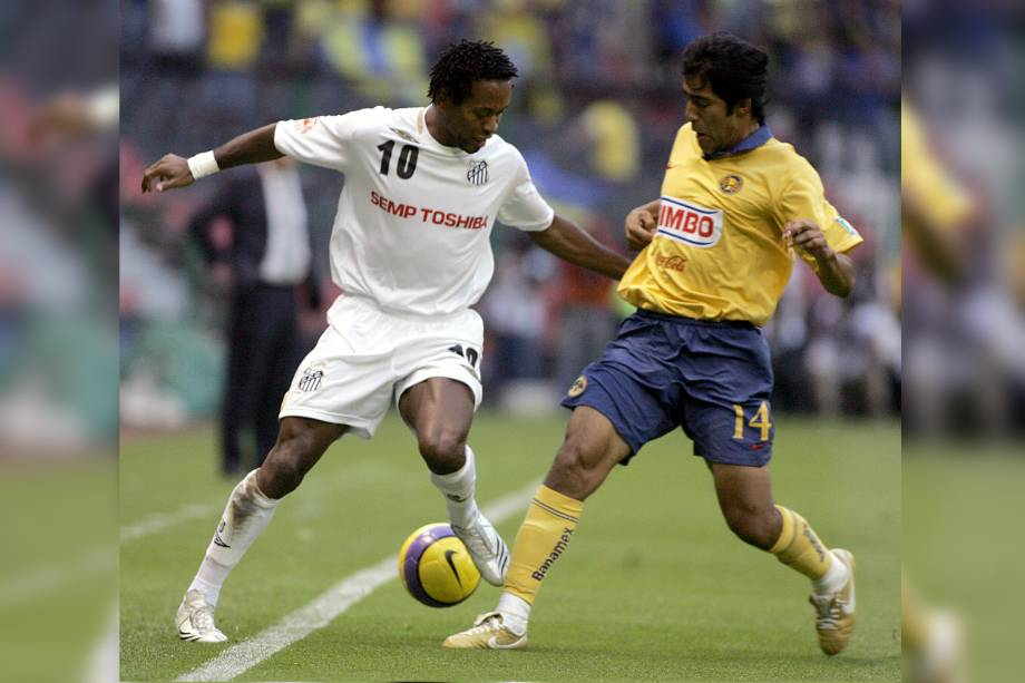 Zé Roberto defendeu o Santos de 2006 a 2007