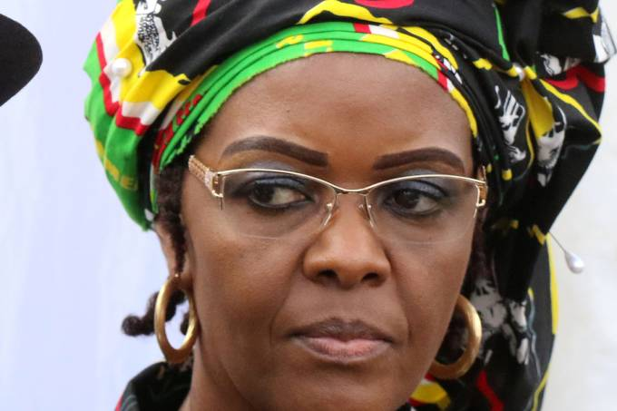 Primeira-Dama do Zimbábue, Grace Mugabe