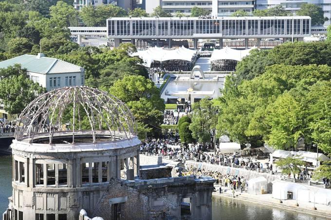 Memorial da Paz, em Hiroshima