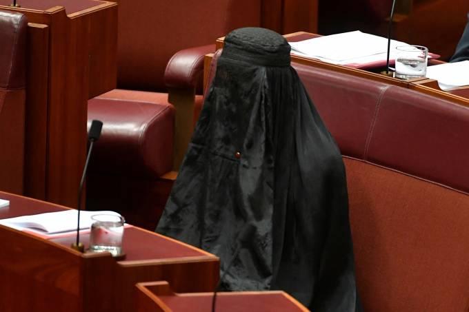 Senadora Pauline Hanson