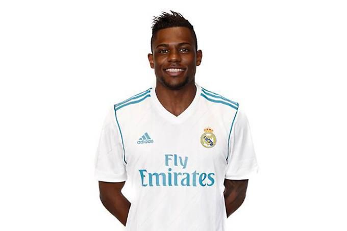 O jogador Abner, do Real Madrid