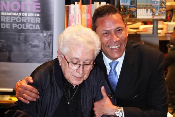 Aguinaldo Silva e advogado Sylvio Guerra