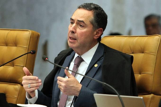 O ministro Luis Roberto Barroso